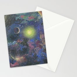 Galaxy. Order in chaos. Stationery Cards