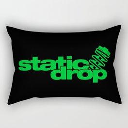 Static drop v5 HQvector Rectangular Pillow