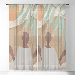 Beauty of the Sun Sheer Curtain
