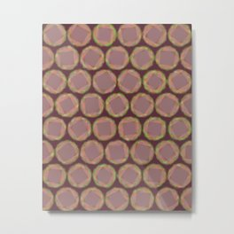 Watercolor Swirls 1540 Metal Print