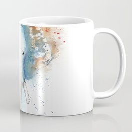 Elephant Watercolor Illustration Coffee Mug