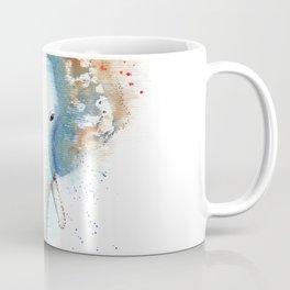 Elephant Watercolor Illustration Coffee Mug