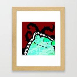 not okay Framed Art Print