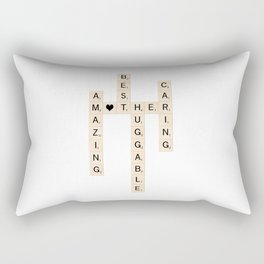 MOTHER's Day Scrabble Art Gift Rectangular Pillow