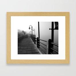 walk with me. Framed Art Print