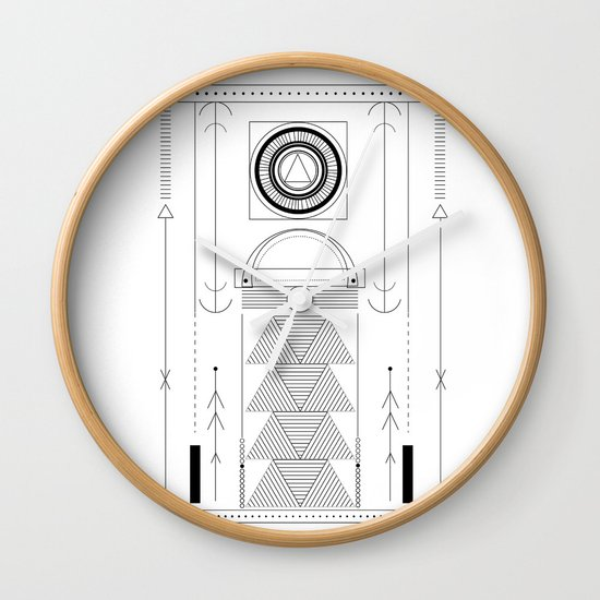 cirquit blank Wall Clock