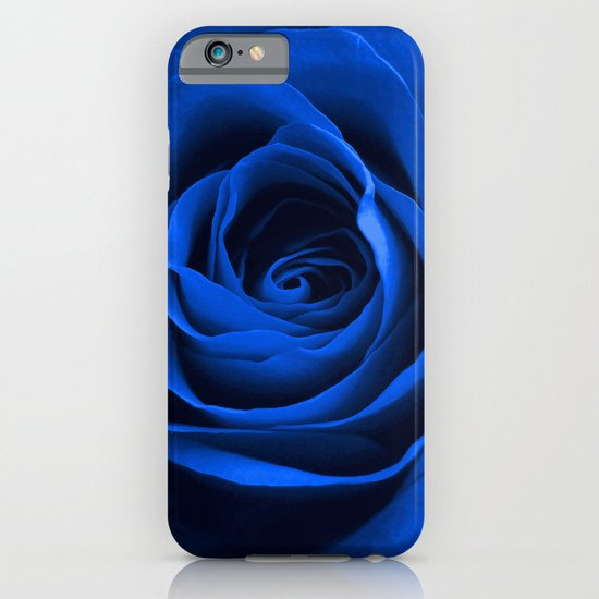 Blue Rose iPhone & iPod Case