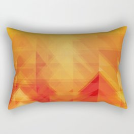 Elements - Fire Rectangular Pillow