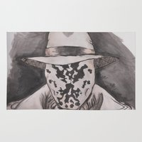 rorschach Area & Throw Rugs featuring Rorschach  by Taylor Starnes