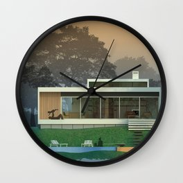 Weekend home Wall Clock