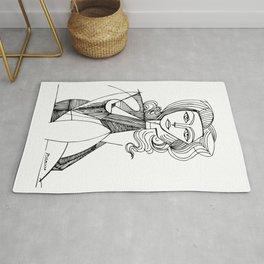 Pablo Picasso Portrait de Jacqueline Accoudee T Shirts, Art Rug
