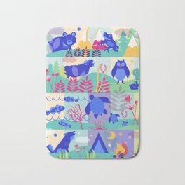 colorHIVE animals Bath Mat