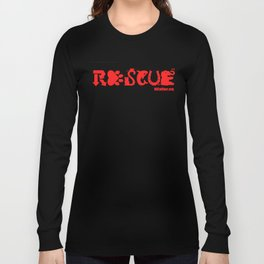 Rescue Red Long Sleeve T-shirt