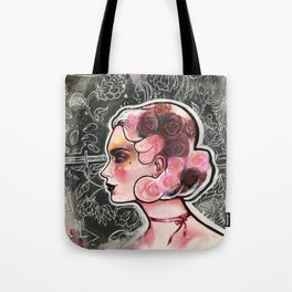 Ouija voodoo woman Tote Bag