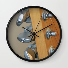 Guitar Tuners Wall Clock