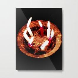 The spells that bind us. Metal Print