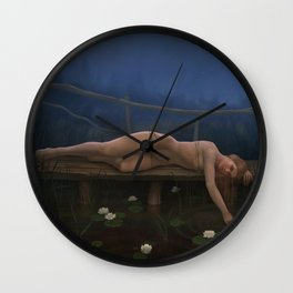 Silent place Wall Clock