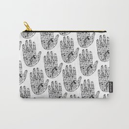 Hand Of Wisdom by Ane Teruel Carry-All Pouch