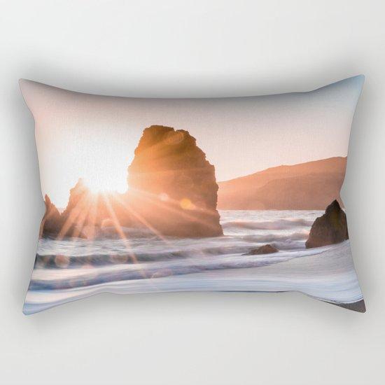 Sea light rock 4 Rectangular Pillow