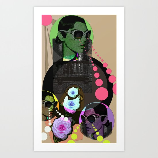 Been looking for love in all the wrong places... Art Print