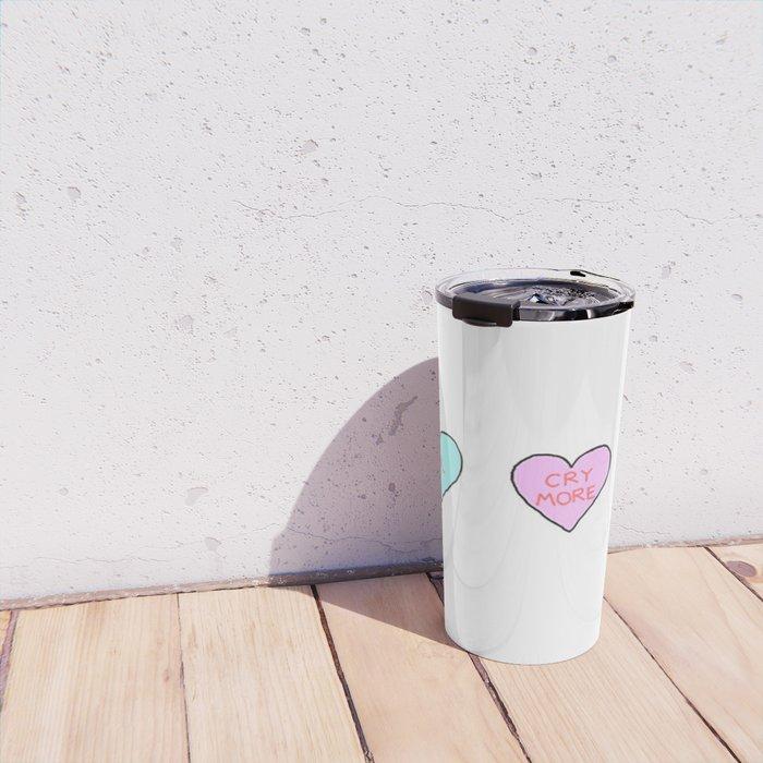 Conversation Hearts Travel Mug