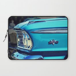 Classic Car: Circa 1960's Turquoise Laptop Sleeve