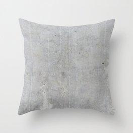 Concrete wall texture Throw Pillow