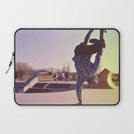 Skateboard Handstand Laptop Sleeve