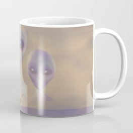 I Want to Believe painting Coffee Mug