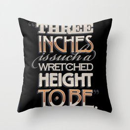 Wretched Height Throw Pillow