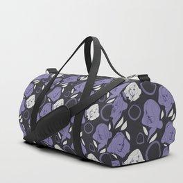 Ladies Purple Duffle Bag