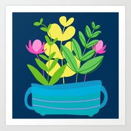 Plant Bowl Art Print