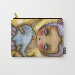 Narwhal Love Carry-All Pouch
