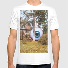 It Waits Mens Fitted Tee White MEDIUM