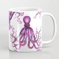 octopus Mugs featuring Octopus by LebensART