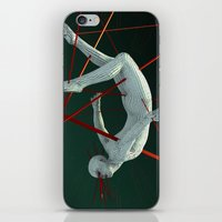 cyberpunk iPhone & iPod Skins featuring Dividendo Digital by Obvious Warrior