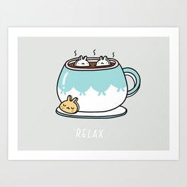 Marshmalunny Art Print