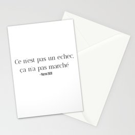 Fail in 2020 Stationery Cards