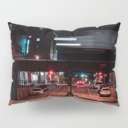 Milwaukee Train Long Exposure Pillow Sham