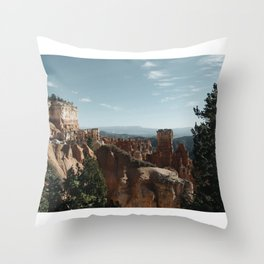 Bryce Canyon USA Throw Pillow