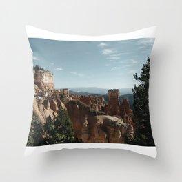 Bryce Canyon USA Throw Pillow