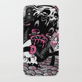 Wandering Donutbeast iPhone Case