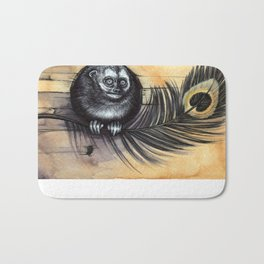 Owl Monkey Bath Mat