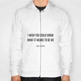 I wish you could know Hoody