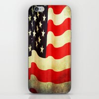 america iPhone & iPod Skins featuring America by ThePhotoGuyDarren