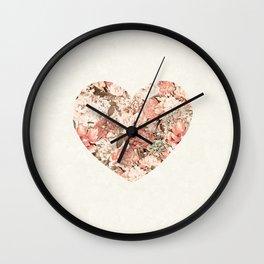 Be my heart 1 Wall Clock