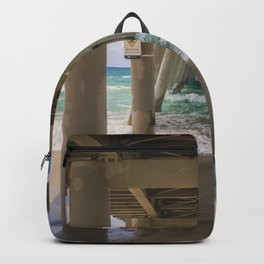 Beach Shore Under The Pier Backpack