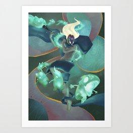 The Dreamteller of Sleepwalkers Art Print