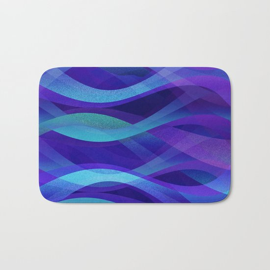 Abstract background G143 Bath Mat