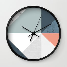 Modern Geometric 12 Wall Clock